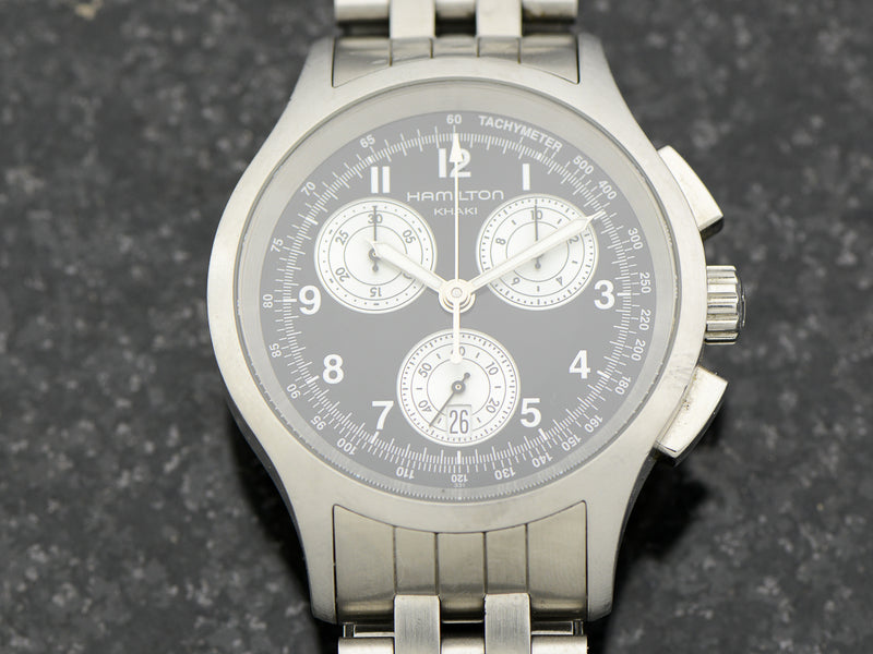 Hamilton Khaki Aviation Quartz Chronograph Watch