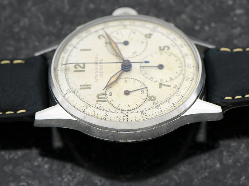 Universal Geneve Stainless Steel Chronograph Caliber 287
