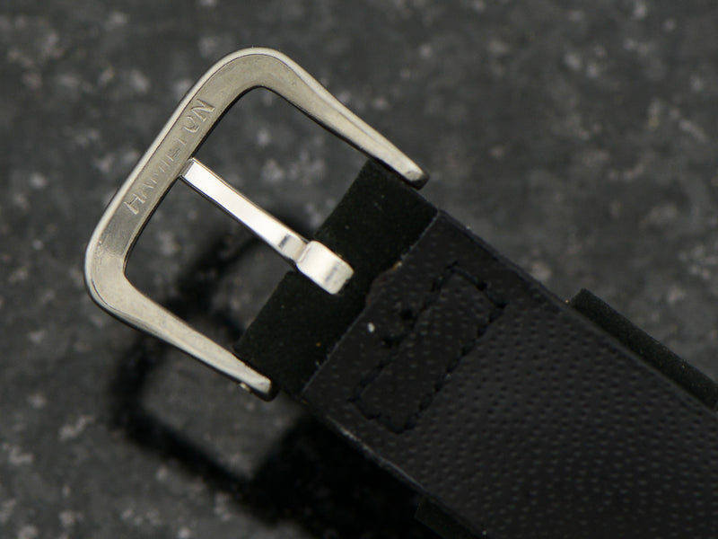Original Hamilton Watch Band With Original Signed Buckle