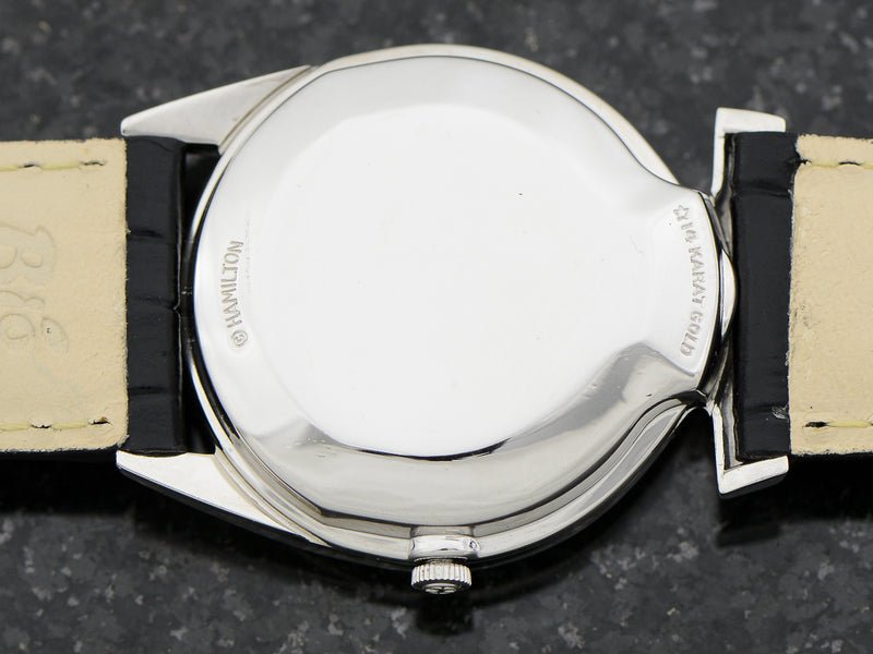 Hamilton Electric 14K White Gold Polaris Case Back