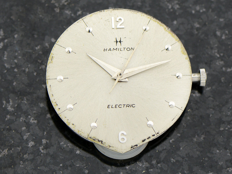 Hamilton Electric 14K White Gold Polaris Original Finish Dial