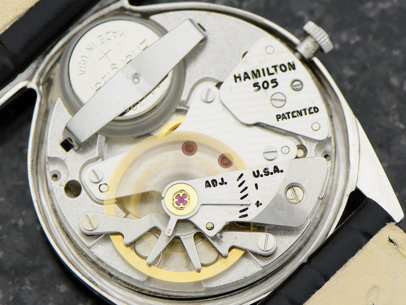 Hamilton Electric 14K White Gold Polaris 505 Electric Movement