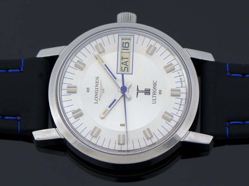 Longines Ultronic Steel Watch