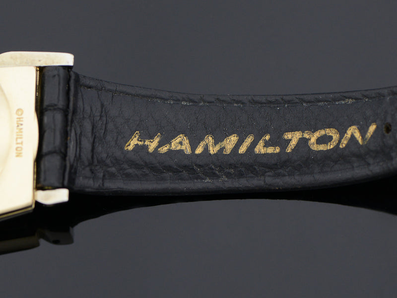 Hamilton Electric Original Finish 505 Style Black Dial Pacer