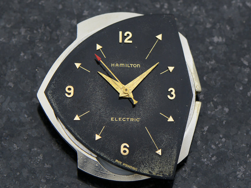 Hamilton Electric Original Finish Black Dial Pacer