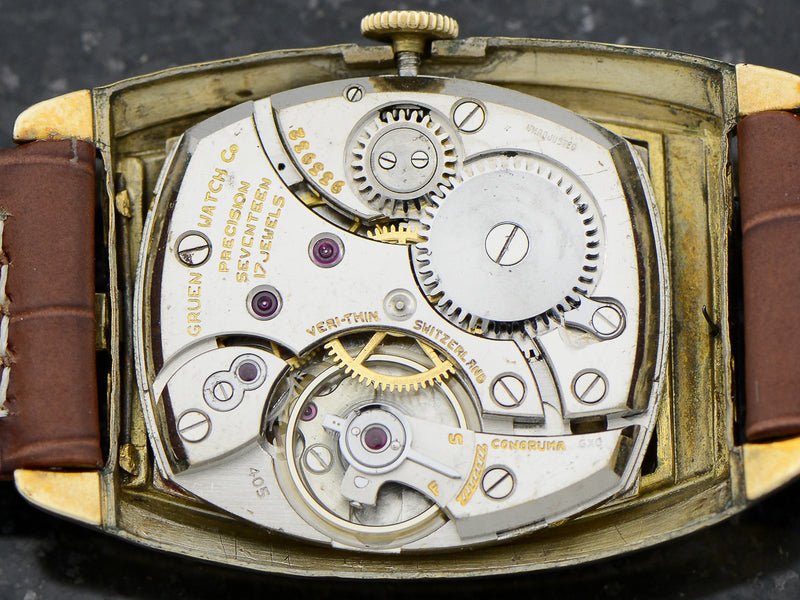 Gruen Flip Top Veri-Thin Precision Watch Movement