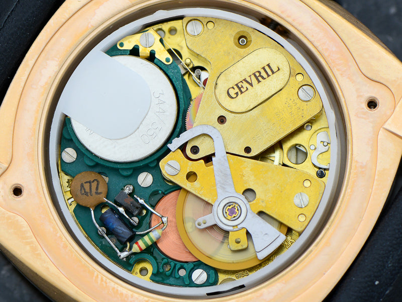 Gevril Hercules With ESA 9158 Dynotron Electronic Movement