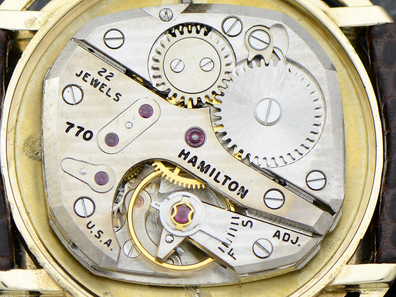 Hamilton 14K Doublet Vintage Watch Movement