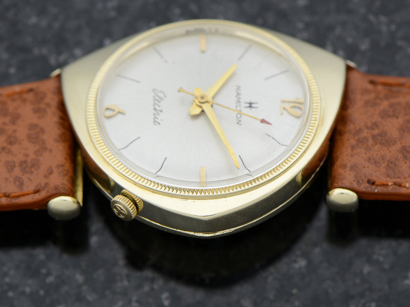 Hamilton Electric Savitar 14K Yellow Gold Watch