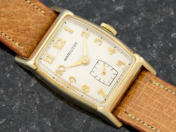 Hamilton 10K Solid Gold Turner Vintage Watch