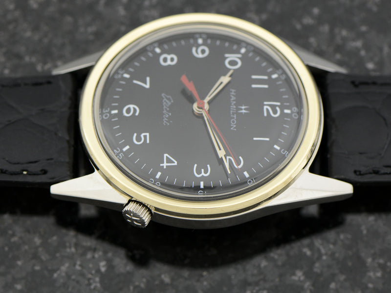 Hamilton Electric Clearview Black Dial