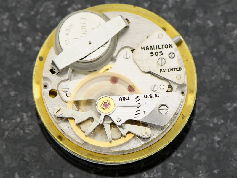 Hamilton Electric Skip Jack With Rare RR Style Dial