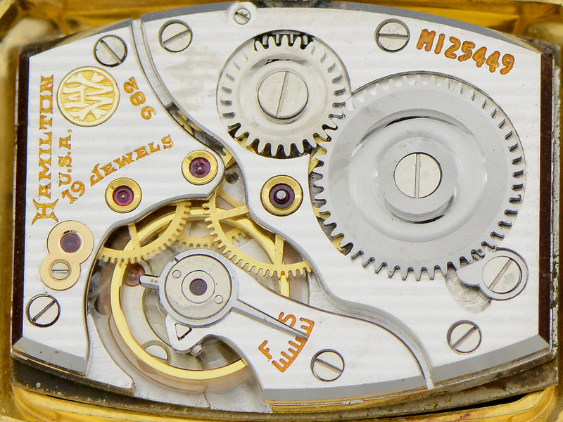 Hamilton 14K Solid Gold Donald Vintage Watch Movement