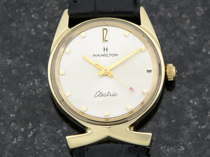 Hamilton Electric 14K Polaris II Watch