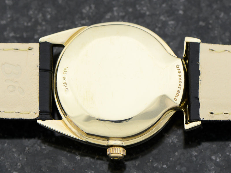 Hamilton Electric 14K Polaris II Watch Case Back