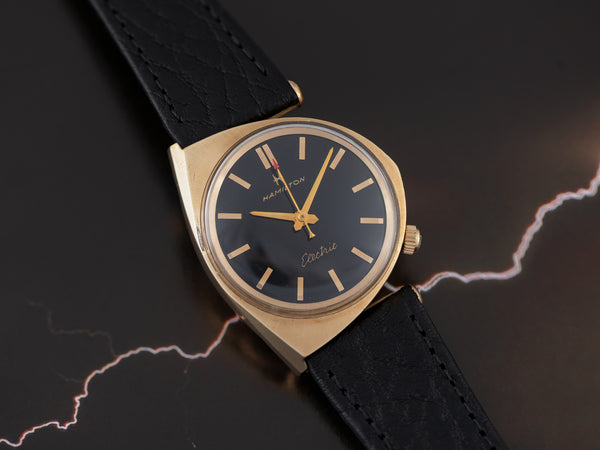 Hamilton Electric Savitar II Custom Black Dial Watch