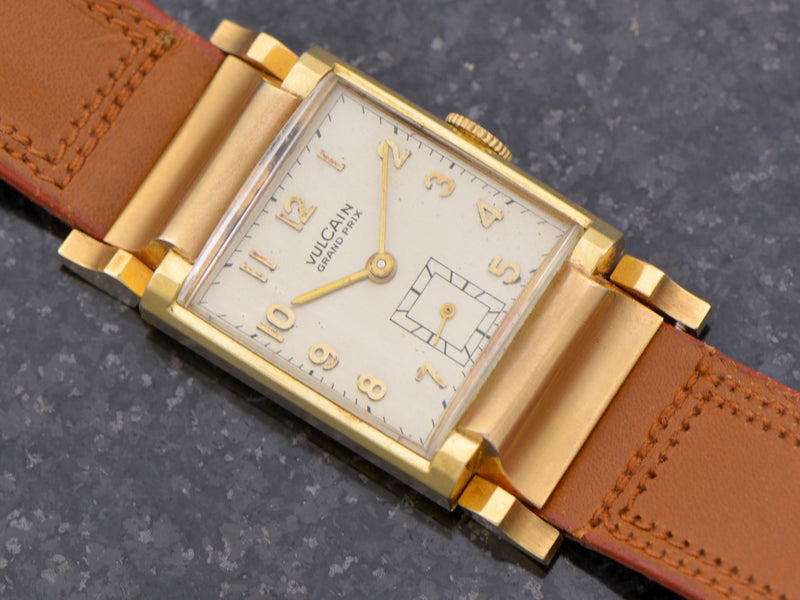 Vulcain Grand Prix 14K Rose Gold