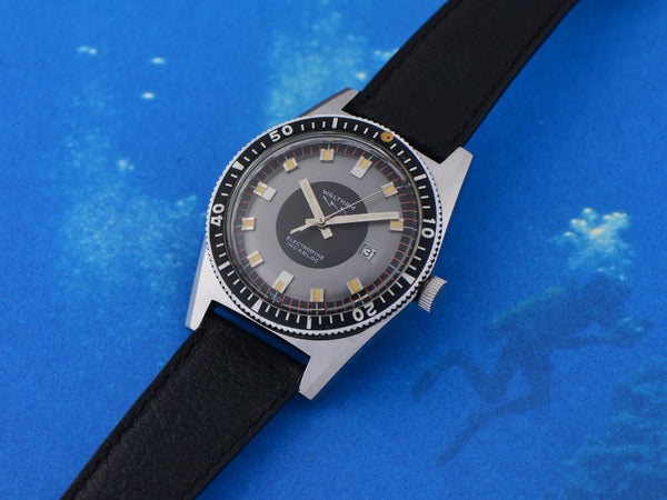 Waltham LIP Electrodyne Dive Watch