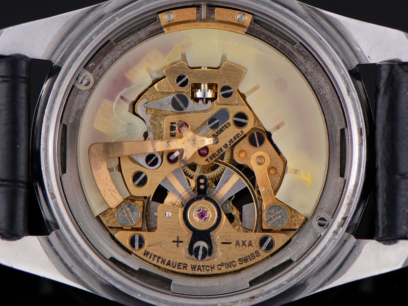 Wittnauer Electro-Chron Skeleton Landeron 4750 Watch Movement