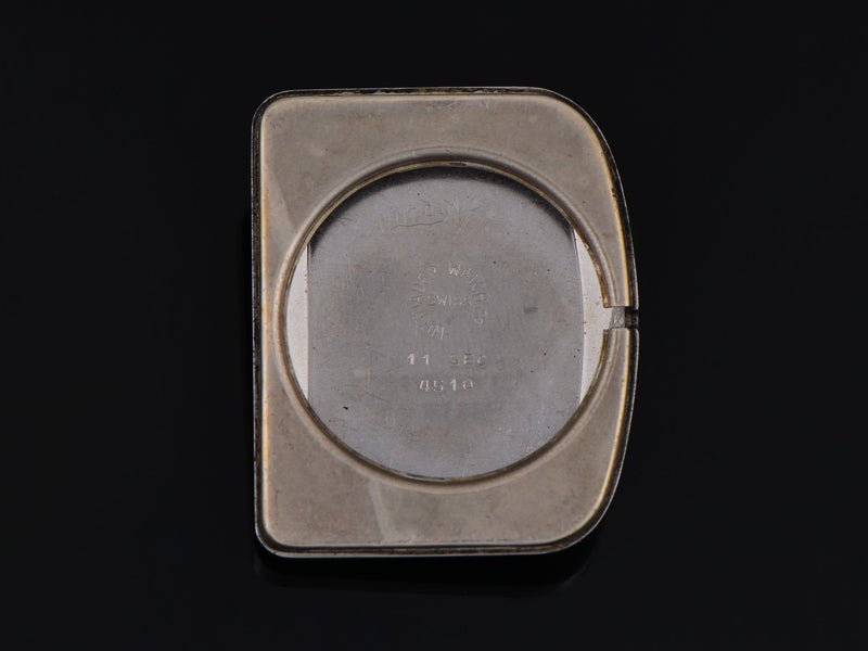 Wittnauer Futurama Black Dial Inner Watch Case Back