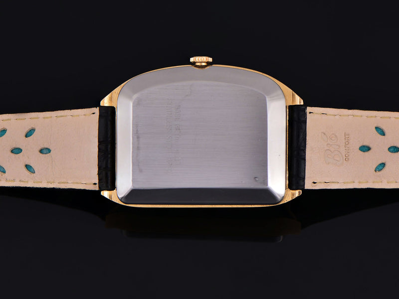 Wittnauer Futurama Black Dial Watch Case Back