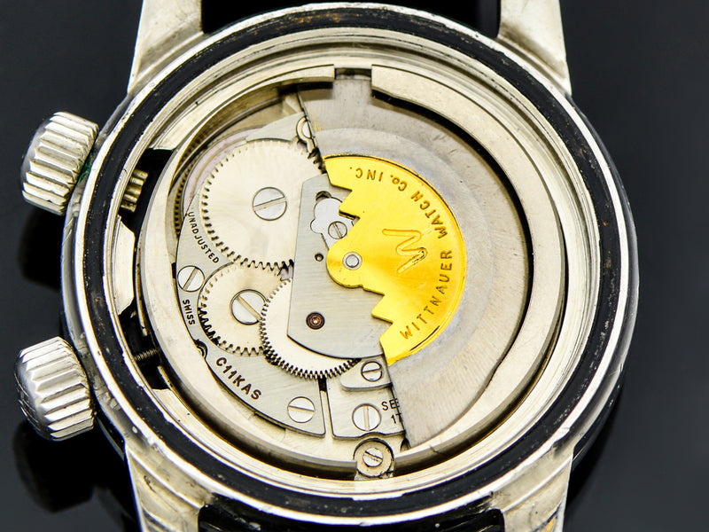 Wittnauer Super Compressor Automatic Dive Watch Movement