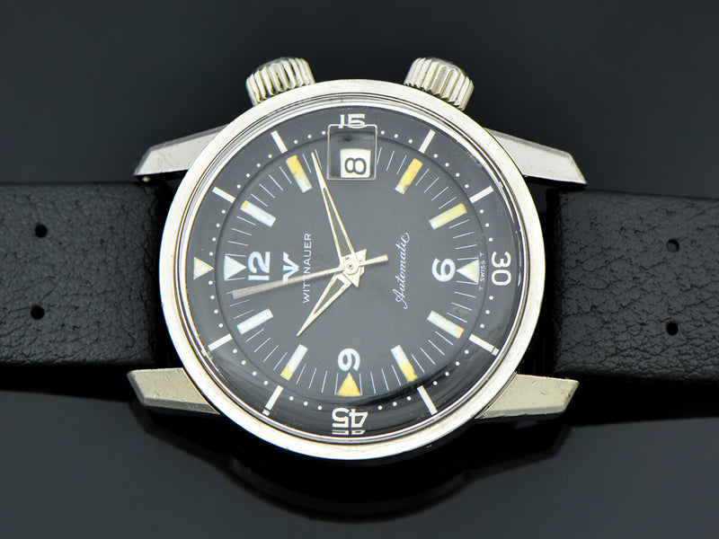 Wittnauer Super Compressor Automatic Dive Watch | Vintage