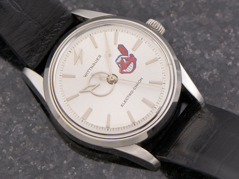 Wittnauer Electro-Chron Cleveland Indians Electric
