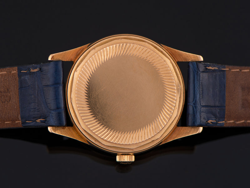Zenith Captain 18K Rose Gold Automatic Watch Case Back