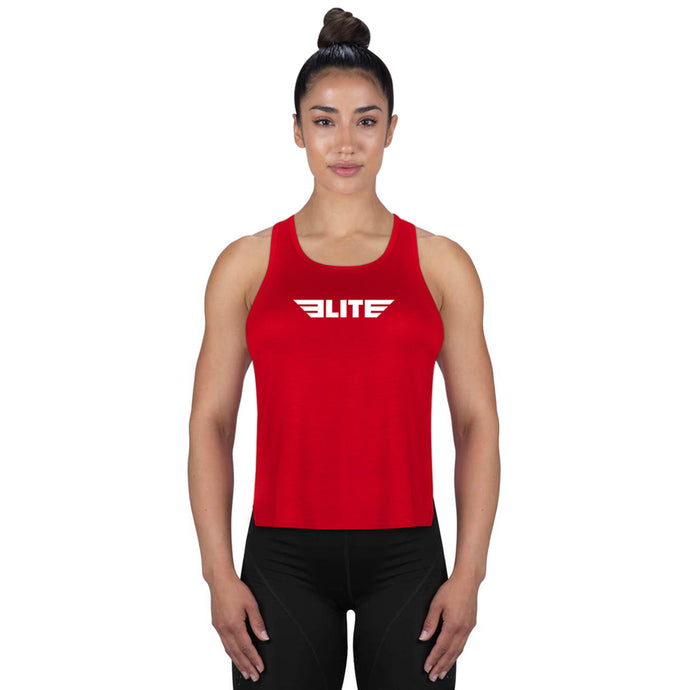 Elite Sports Red Training Women Tank Top