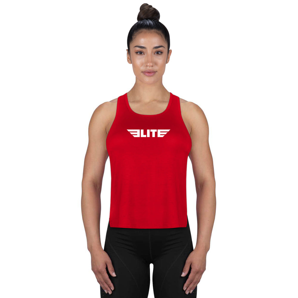 Elite Sports Red Bjj Women Tank Top