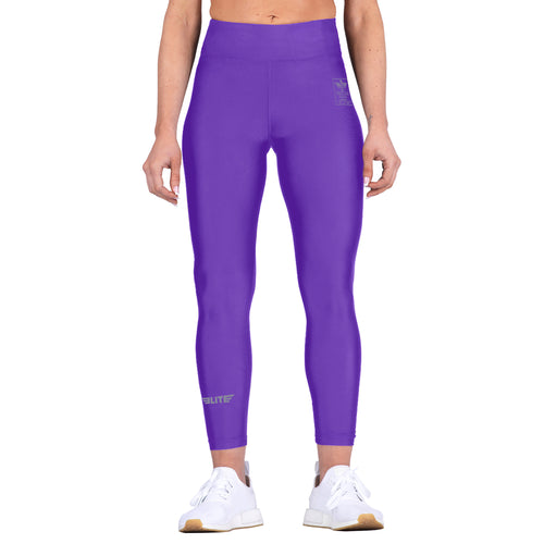Elite Sports Purple Women Compression Bjj Spat Pants