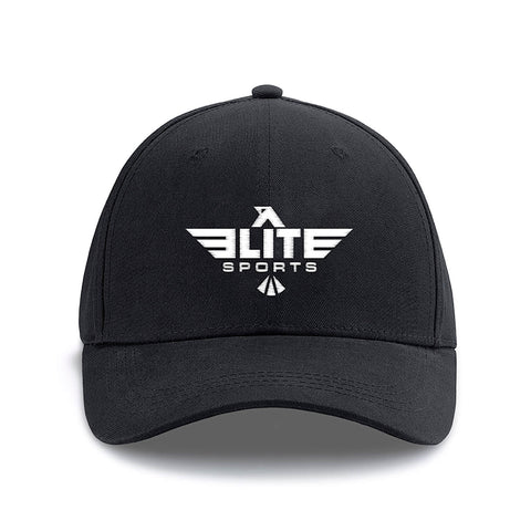 Elite Sports Black Training Cap