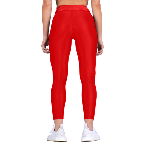 Elite Sports Red Women Compression Karate Spat Pants