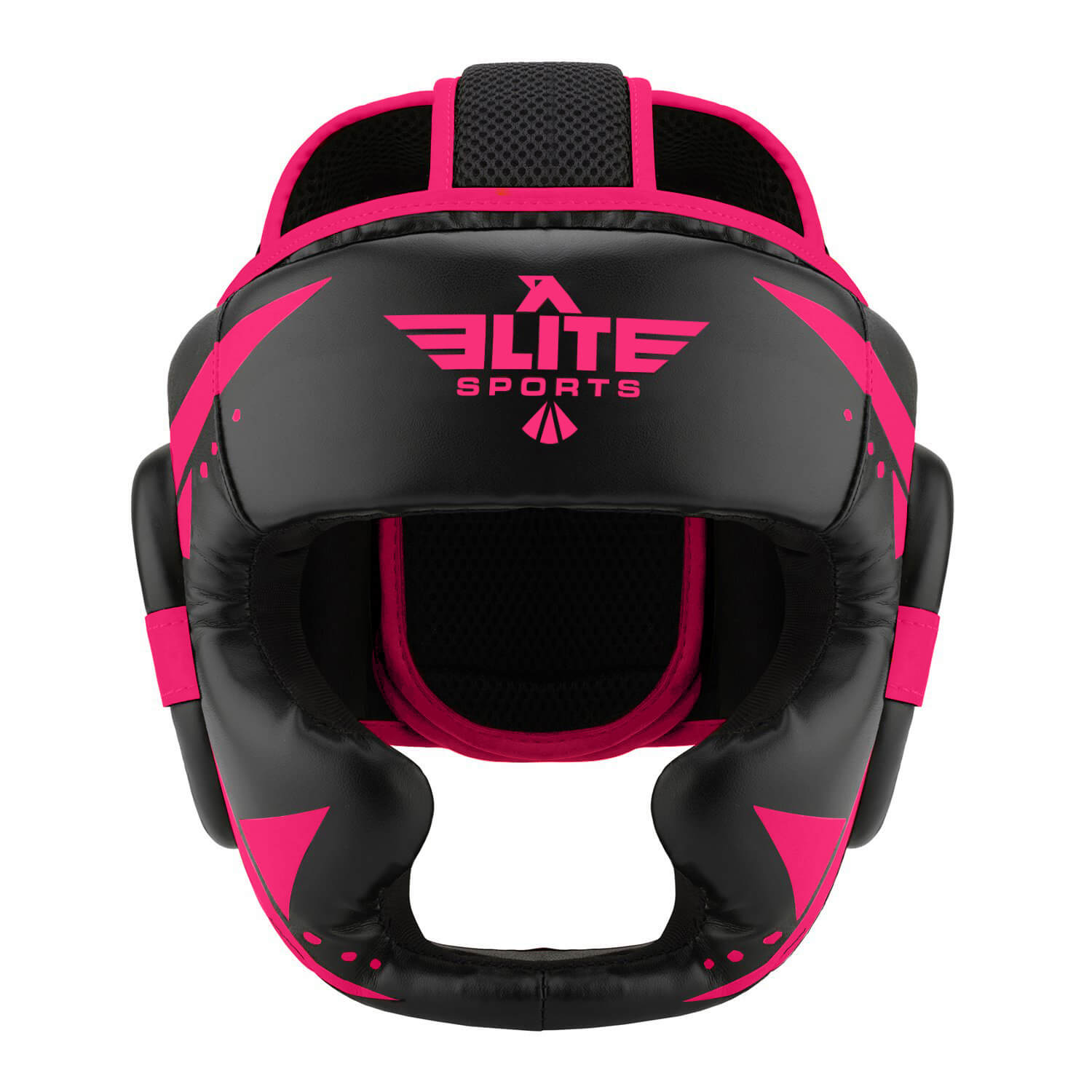 Load image into Gallery viewer, Elite Sports Star Series Sparring Black/Pink Boxing Headgear