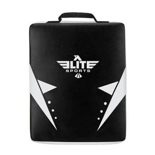 Elite Sports Black/White Karate Strike Shield Kick Pad