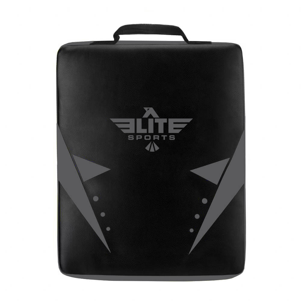 Load image into Gallery viewer, Elite Sports Black/Black Training Strike Shield Kick Pad
