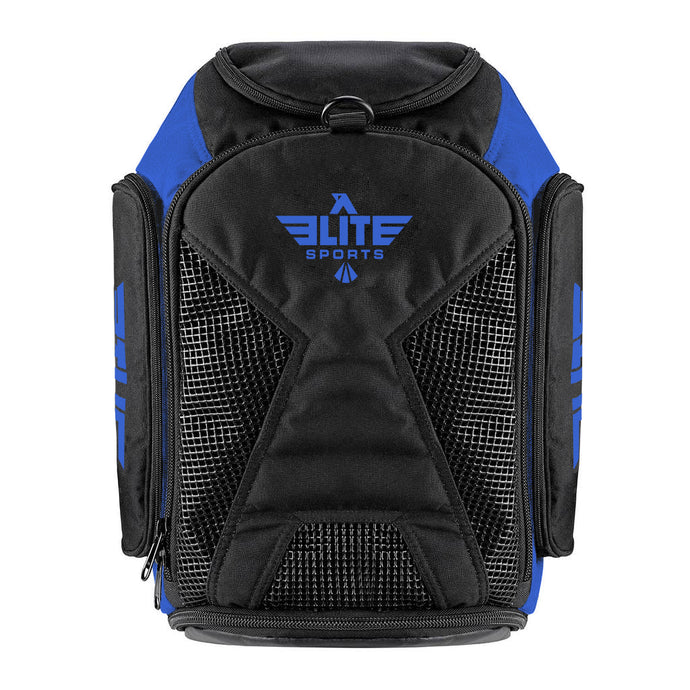 Elite Sports Athletic Convertible Blue Boxing Gear Gym Bag & Backpack