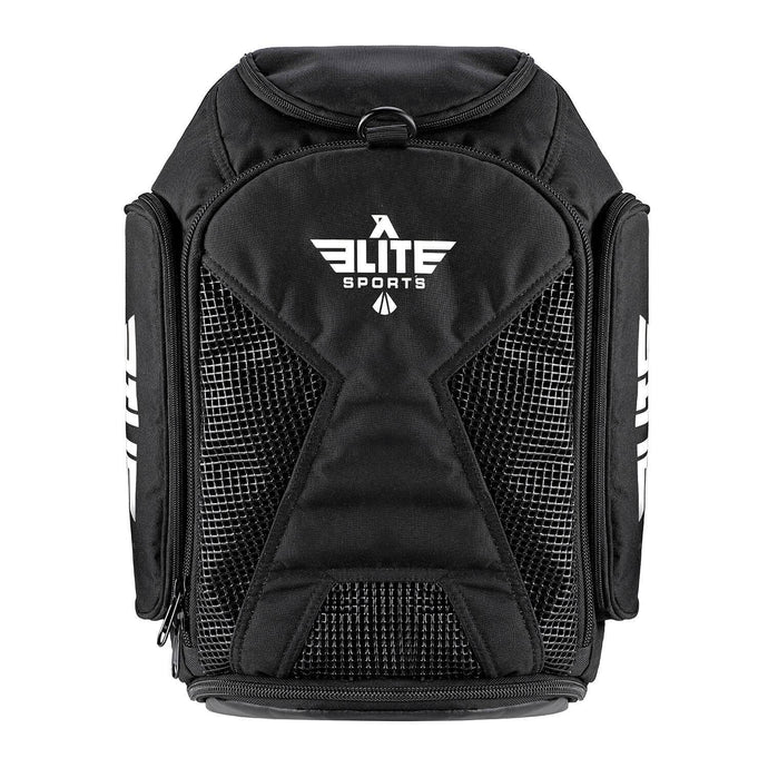 Elite Sports Athletic Convertible Black Muay Thai Gear Gym Bag & Backpack