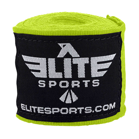 Elite Sports Hi-Viz Muay Thai Hand Wraps