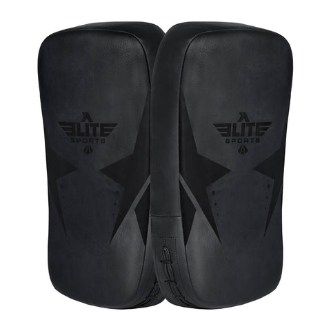 Elite Sports Black/Black Muay Thai Kick Pad