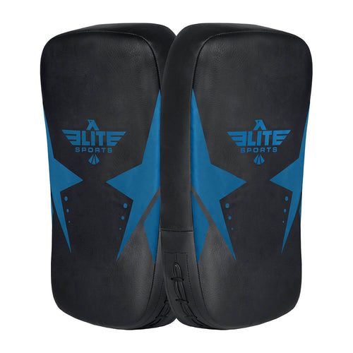 Elite Sports Black/Blue Muay thai Kick Pad