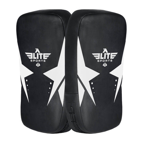 Elite Sports Black/White Muay thai Kick Pad