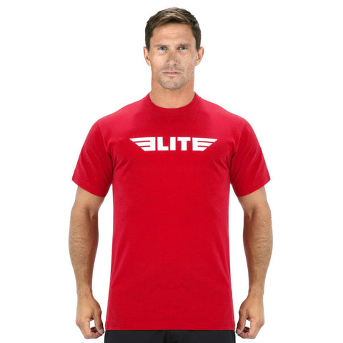 Elite Sports Red Boxing T-Shirts