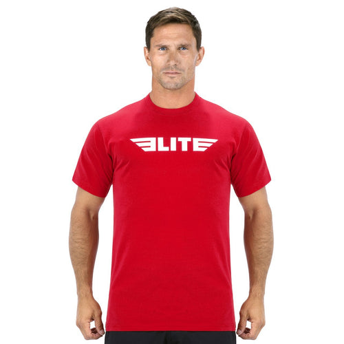 Elite Sports Red Wrestling T-Shirts