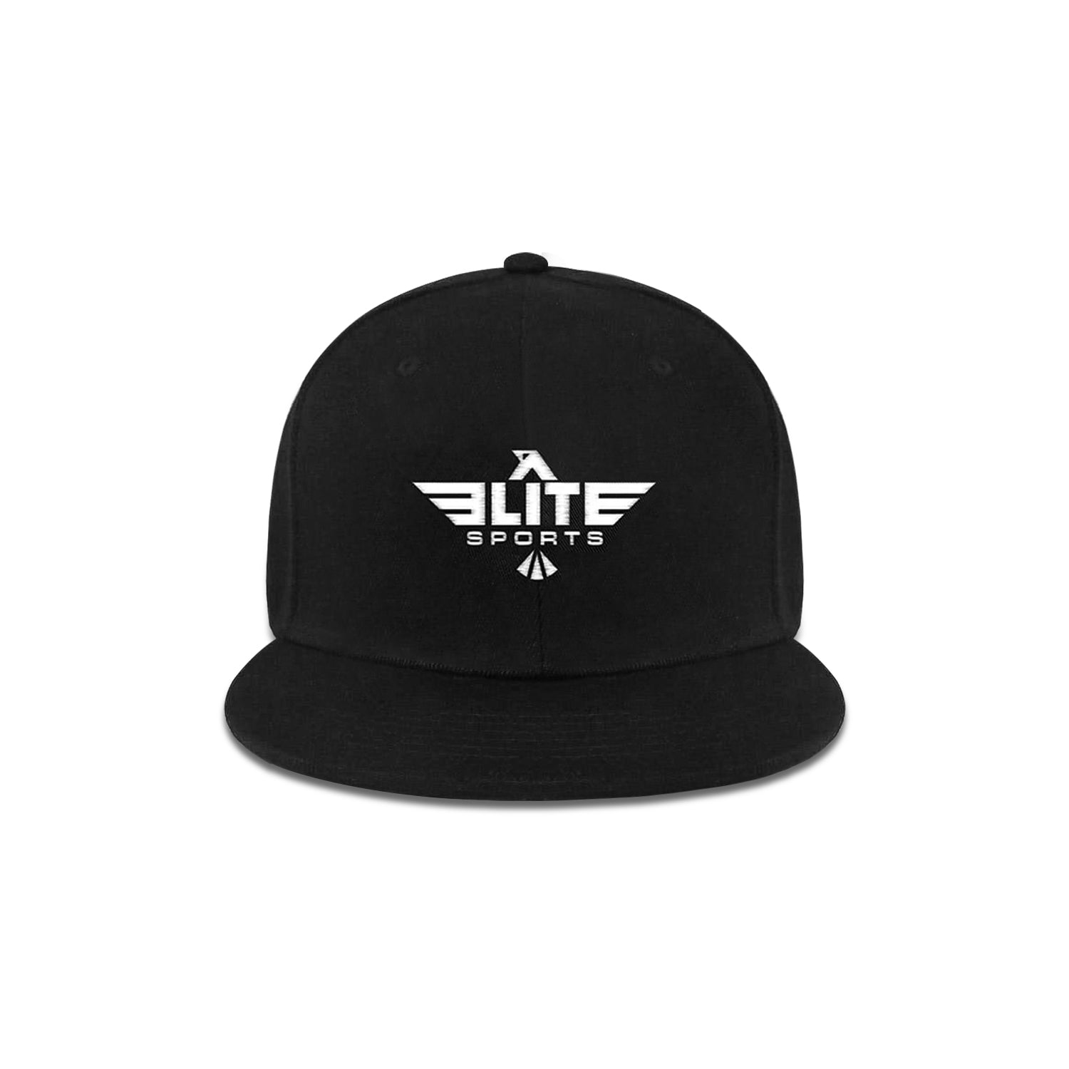 Elite Sports Snapback Black Wrestling Cap