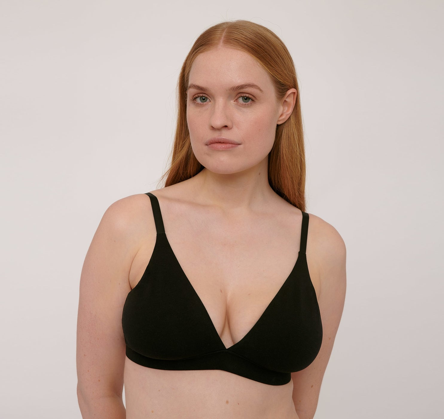 Organic Cotton Triangle Bra