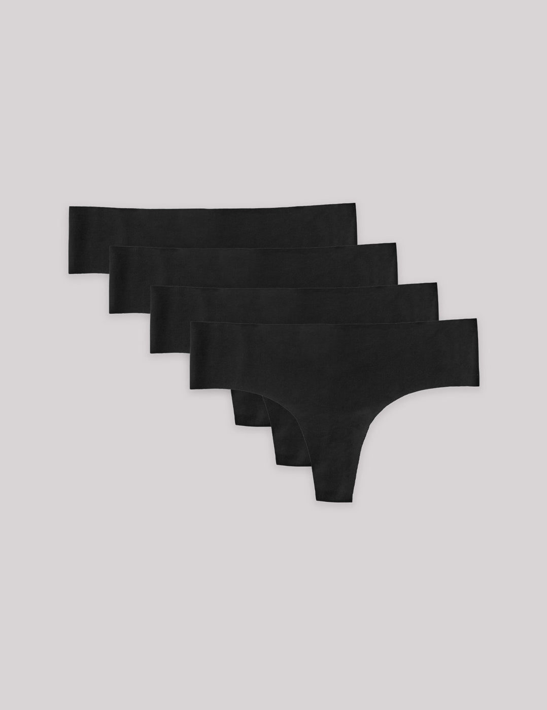 Invisible Cheeky Thong 4-pack