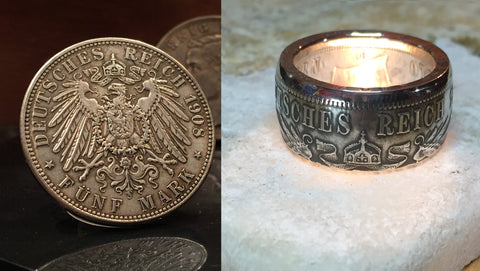 International Coin Rings – Ringpublic of Texas