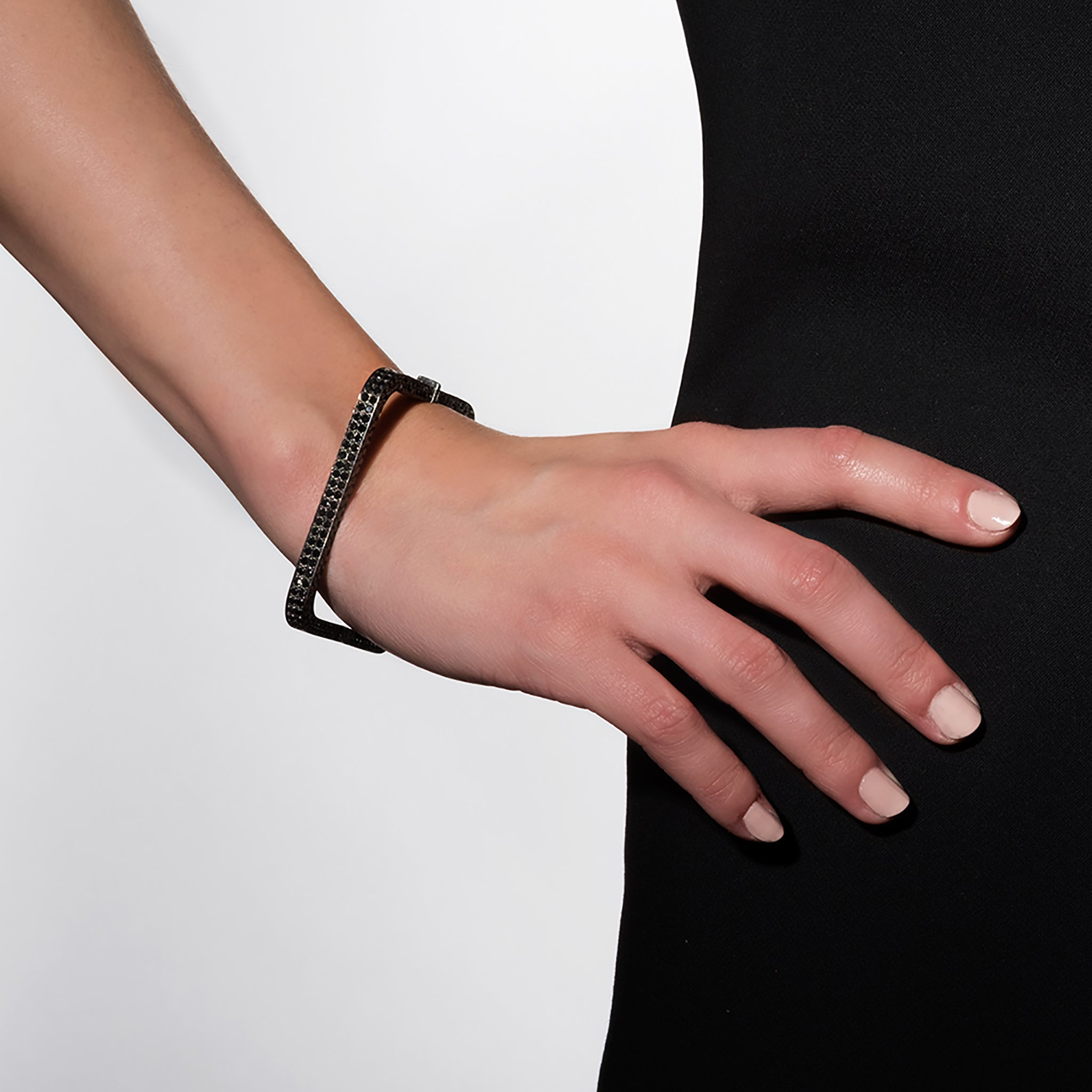 Mimi-So-Stackable-Black-Diamond-Square-Bangle
